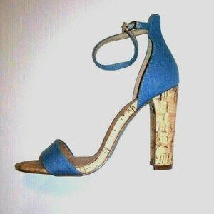 Her Royal Highness Jonas Denim Sandals Stilettos